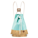 Light Blue & Cork - Double IF Backpack