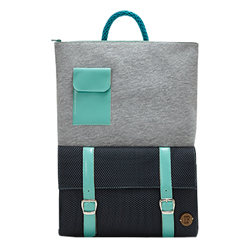 Grey & Black - IF Backpack with Pocket