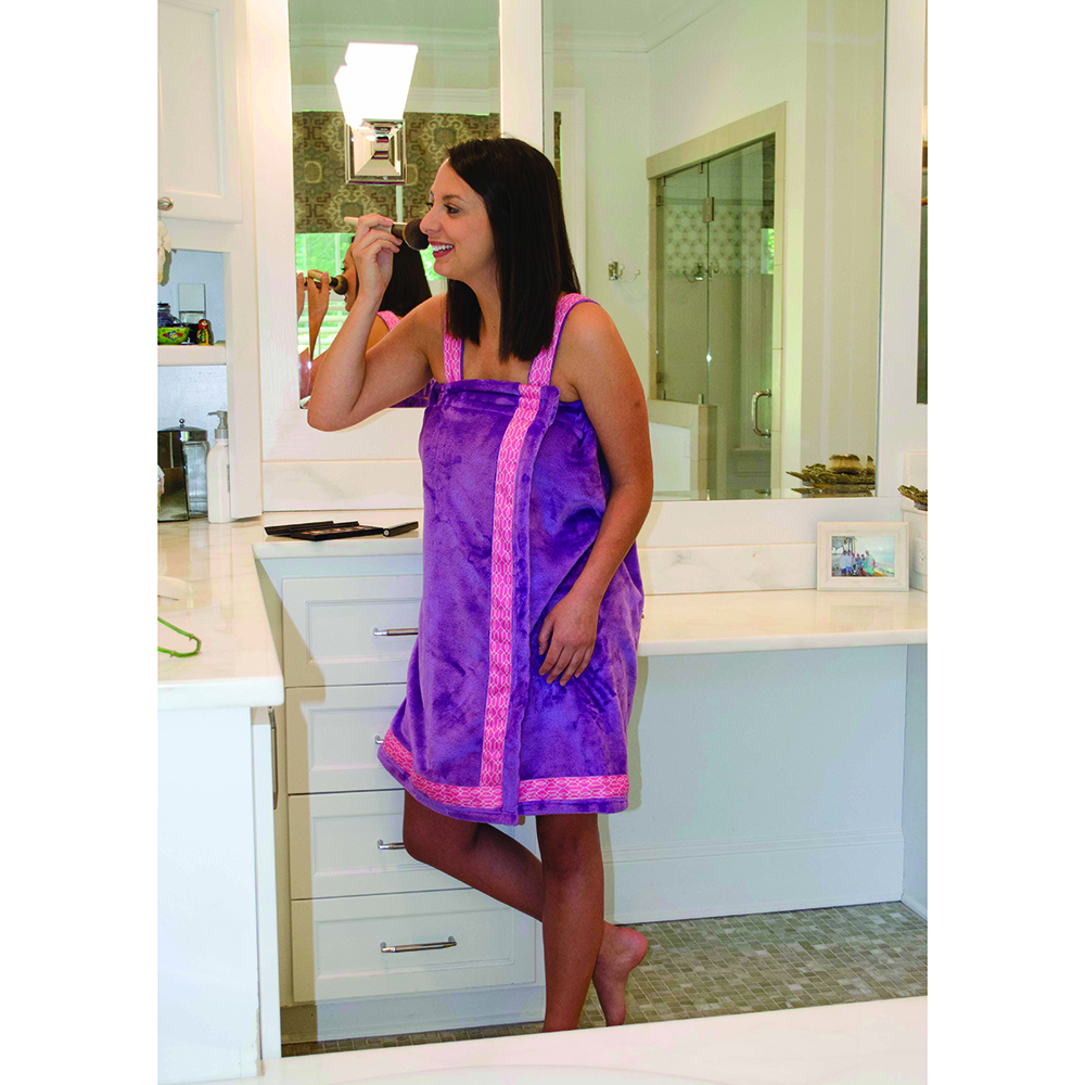 Purple - Bath Wrap