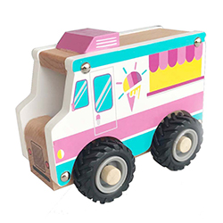 Snow Cone Truck - Wooden Toy