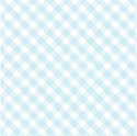 Blue Gingham - Scented Drawer Liners