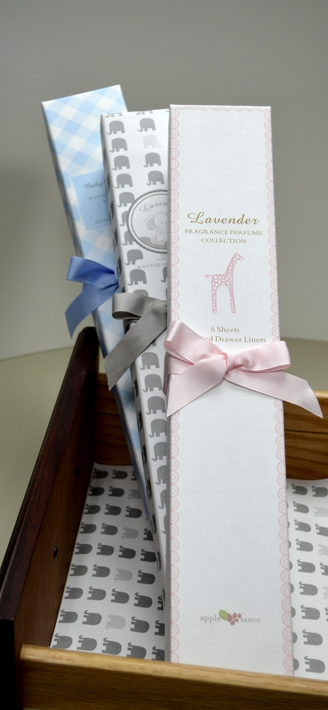 Elephant Scented Drawer Liners
